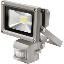EXTOL LIGHT LED lámpa, falra szerelhető reflektor, mozgásérzékelővel, 10W, 650 lm, IP44, 230V/50Hz