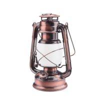"""Extol LED """"petróleum"""" lámpa, dekorációs, fehér+láng hatású sárga fényű, elem nélkül"""