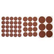 Extol Craft csúsztatófilc készlet bútorhoz 43db-os ; 20-38mm  60012 