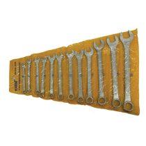 EXTOL CRAFT csillag-villás kulcs klt., W.S.; 12db, 6-22mm, műanyag tartóban