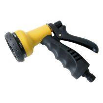 Extol Craft pisztoly szórófej, ergonomikus ; műanyag 7 féle sugár, kuplung csatlakozóval  70113 