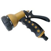 Extol Craft pisztoly szórófej, réz fejjel, 7 féle sugár, kuplung csatlakozóval, ergonomikus  GARDEN