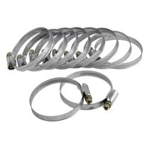 Extol Craft csőbilincs (awab) 10db, 25-40mm, horganyzott, állítható |70505|
