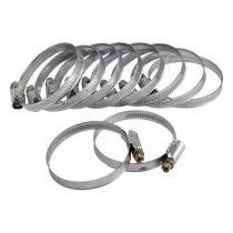 Extol Craft csőbilincs (awab) 10db, 32-50mm, horganyzott, állítható |70506|