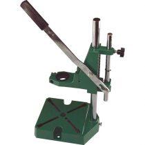 Extol Craft fúrógépállvány; fém, 38 és 43 mm befogás, teljes magasság: 420 mm, max. fúrási mélység: 60 mm