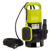 EXTOL szennyvíz szivattyú, 550W Extol Craft, szállító teljesítmény: 12m3/h, max. száll. 6 m