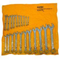 Extol Craft csillag-villás kulcs klt., CV., műanyag tartóban ; 21db, 6-32mm |8631143|