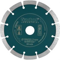 Extol Industrial gyémántvágó, ipari korong, szegmenses; 150mm, száraz vágásra  8703033 