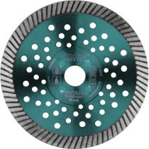 Extol Industrial gyémántvágó, ipari korong,TURBO,gyors vágás; 115×22,2mm, száraz és vizes vágásra |8703051|