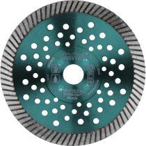 Extol Industrial gyémántvágó, ipari korong,TURBO,gyors vágás; 125×22,2mm, száraz és vizes vágásra  8703052 
