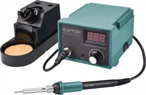 Extol Industrial forrasztó állomás, 70W, 200-450°C, elektronikusan szabályozott, 2 heggyel |8794520|