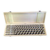 Extol Premium fafúró klt. 6 db, 10-12-14-16-18-20×460mm, csavaros heggyel, hatszög befogás; fa dobozban |8801292|