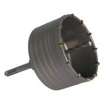 EXTOL PRÉMIUM körkivágó téglához, SDS befogás; 105mm, 100mm hosszúságú szár