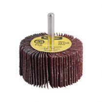Extol Premium lamellás csiszoló, csapos, 6 mm befogás, Alu-Oxid, 60×30mm; P100, max.: 12.150 ford./perc |8803378|