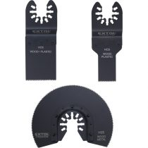 Extol Premium tartalék fej klt., 3 db a 417200 és 417220 géphez, fával és műanyaggal való munkákhoz