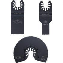 Extol Premium tartalék fej klt., 3 db a 417200 és 417220 géphez, fával és műanyaggal való munkákhoz |8803823|