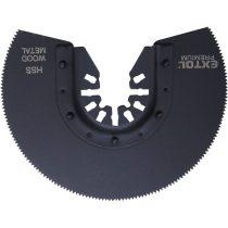 Extol Premium tartalék körszegmens vágófej, 88mm, a 417200 és 417220 géphez, HSS, használható: lágy fémre és fához