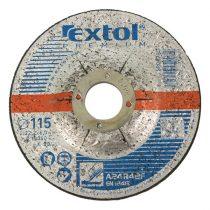 Extol Premium csiszoló korong acélhoz, kék; 115×6,0×22,2mm, max 13300 ford/perc  8808700 