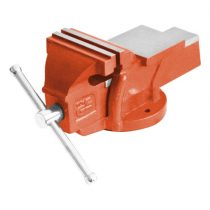 Extol Premium satu fix;100 mm, 4,5 kg, max.befogás:100mm, max. összeszorító erő: 8kN, pofák keménysége: HRC 48-52 |8812612|