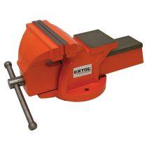 EXTOL PRÉMIUM satu fix;150 mm, 10 kg, max.befogás:115mm, max. összeszorító erő: 15kN, pofák keménysége: HRC 48-52