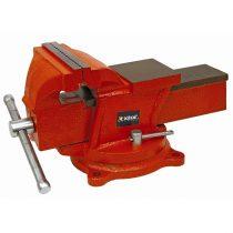 EXTOL PRÉMIUM satu forgatható;150 mm, 11 kg, max.befogás:115mm, max. összeszorító erő: 10kN, pofák keménysége: HRC 48-52