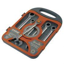 Extol Premium racsnis csillag-villás kulcs klt. 7db; 8-19mm CV. 72 foggal, 1 irányú forgás |8816100|