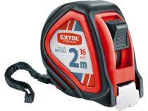 Extol Premium mérőszalag, gumírozott, 1 stoppos, 2m×16mm |8821022|