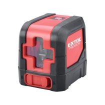 Extol Premium automatikus lézeres vízszintező, ZÖLD, 1H1V (1 horizontális+1 vertikális) pontosság:0,3mm/1m
