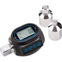"""EXTOL PRÉMIUM digitális nyomaték adapter, hangjelzéssel, 1/2"""", 20-200Nm, adapterek: 1/4""""és 3/8"""""""
