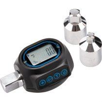 """Extol Premium digitális nyomaték adapter, hangjelzéssel, 1/2"""", 20-200Nm, adapterek: 1/4""""és 3/8"""""""