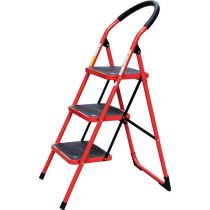 Extol Premium összecsukható létra, 3 lépcsős, max. magasság 68cm, acél (szobalétra) |8849031|