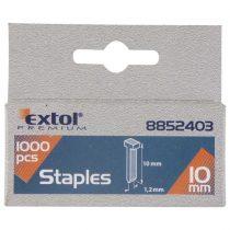 Extol Premium szeg fejjel profi tűzőgéphez 1000db ; 12mm (2,0×1,2mm)  8852404 
