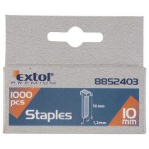 Extol Premium szeg fejjel profi tűzőgéphez 1000db ; 12mm (2,0×1,2mm) |8852404|