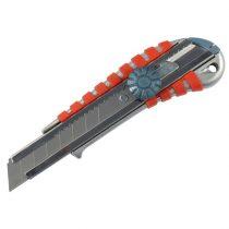 Extol Premium tapétavágó kés, csavaros rögz. ALU fémházas, gumírozott; 18mm |8855014|