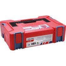 EXTOL PRÉMIUM tároló doboz, ABS, S méret, 443×310×128mm, falvastagság 2,5mm, teherbírás max 100kg, tömeg:1680g