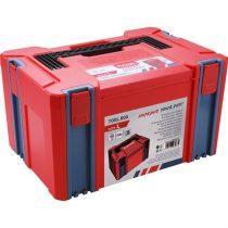EXTOL PRÉMIUM tároló doboz, ABS, L méret, 443×310×248mm, falvastagság 2,5mm, teherbírás max 100kg, tömeg: 2380g