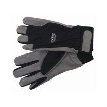 Extol Premium kesztyű munkához; kombinált, szintetikus bőr tenyérrész,/ LUREX kézhát,  méret: 10' |8856652|