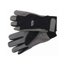 Extol Premium kesztyű munkához; kombinált, szintetikus bőr tenyérrész,/ LUREX kézhát,  méret: 11'