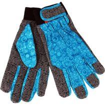 Extol Premium kerti kesztyű, tenyér: szintetikus bőr, szilikon gél pöttyökkel/ lurex kézhát, méret: 10'