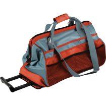 Extol Premium szerszámtáska, gurulós, 51×29×36cm, 29 zseb, nylon, állítható hordpánt+hordfül+kihúzható fogantyú, zipzáras