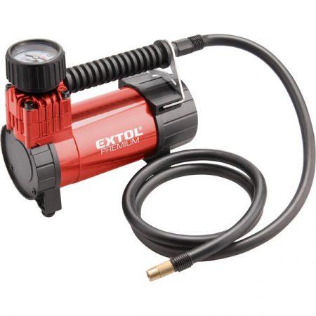 Extol Premium olajmentes légkompresszor, 12V, 6,9 Bar, 24l/perc |8864000|