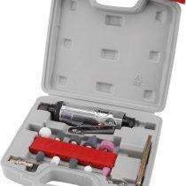 EXTOL PRÉMIUM furatköszörű klt., 16 db, befogás: 6mm/3mm, köszörűfejek (6/3mm befogás), 22.000 1/min, 113l/min, 0,63Mpa