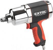"""Extol Premium légkulcs, 1/2"""", 680Nm, erős, 3 fokozatú (Twin Hammer), 7500 1/min, 142l/min, 6,3 Bar, 1/4"""" tömlőcsatlakozó, 2,1kg  8865014 """