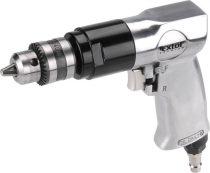 """Extol Premium pneumatikus fúrógép,1-10mm befogás, kulcsos tokmány (3/8""""-24UNF) 1.800 1/min, 113l/min, 6,3 Bar, 1/4"""" tömlőcsatl.,1,1 kg"""