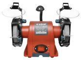 Extol Premium kettős köszörűgép 350W, száraz, 150×12,7×20mm, (P36, P80), 2950 ford/perc, 9kg, lámpával |8892110|