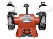 Extol Premium kettős köszörűgép 350W, száraz, 150×12,7×20mm, (P36, P80), 2950 ford/perc, 9kg, lámpával  8892110 