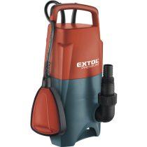 Extol Premium szennyvíz búvárszivattyú, úszókapcsolóval, 400W, szállító teljesítmény: 8m3/h, max. száll.5m |8895006|