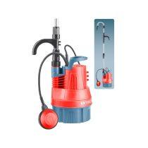 Extol Premium esővíz (hordóürítő) szivattyú tiszta vízhez, úszókapcsolóval, 350W, szállító teljesítmény: 5m3/h, max. száll. 11 m