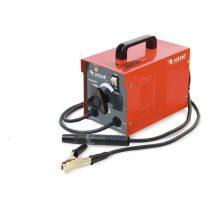 EXTOL PRÉMIUM hegesztőtrafó, 130A, 2-3,2mm pálcaméret, kábellel+pajzzsal, hűtőventillátorral