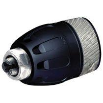 """Extol Premium click-lock gyorstokmány ; befogás: 1,5-13mm, csatlakozás 1/2"""", 20UNF, fekete-króm, 8890031-hez, 8890051-hez"""